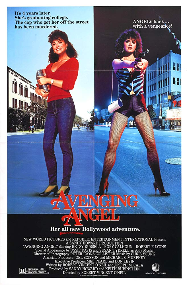 Angel 2 : Avenging Angel (1985) - Betsy Russell  DVD