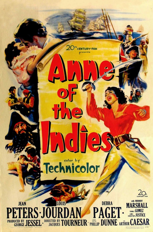 Anne Of The Indies (1951) - Louis Jourdan  DVD