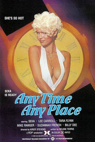 Anytime Anyplace (1981) - Seka  DVD