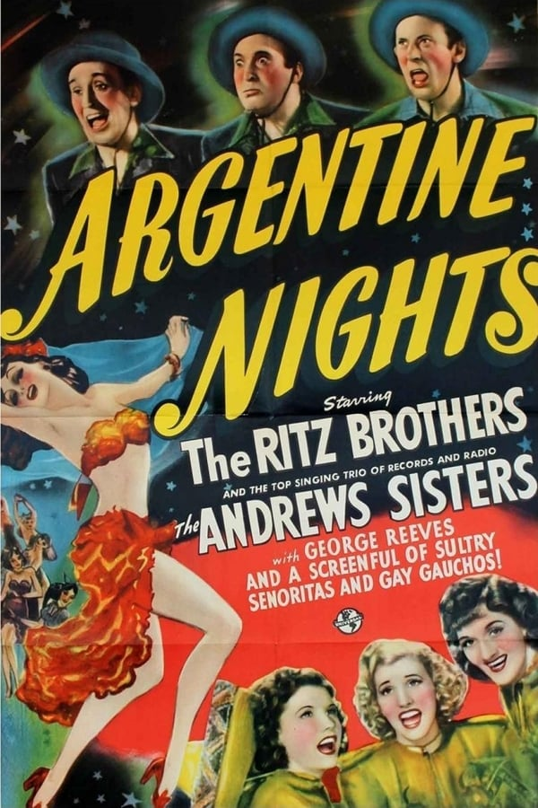 Argentine Nights (1940) - Ritz Brothers  DVD