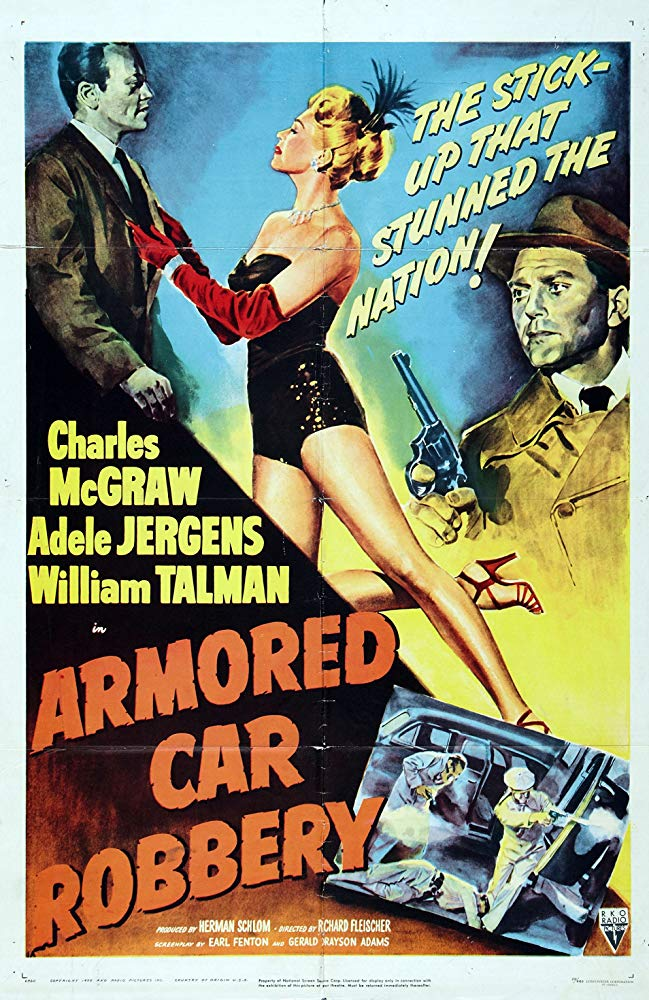 Armored Car Robbery (1950) - Charles McGraw  DVD