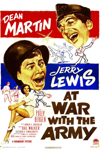 At War With The Army (1950)  DVD