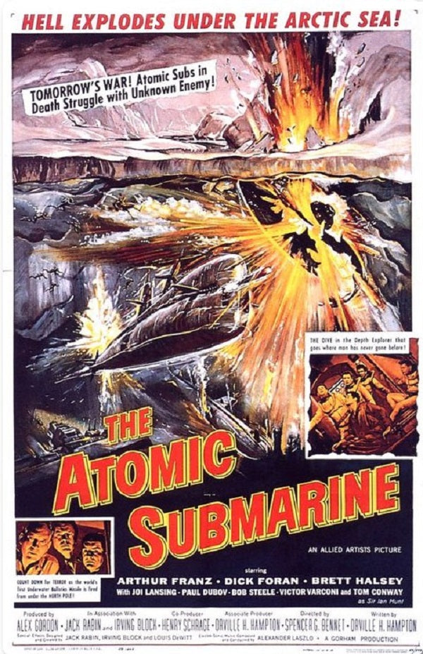 Atomic Submarine (1959) - Dick Foran  DVD