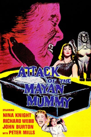Attack Of The Mayan Mummy (1964) - Nina Knight  DVD