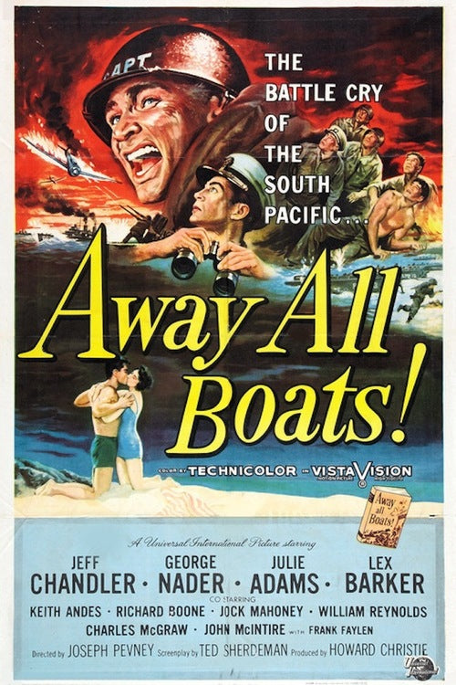 Away All Boats (1956) - Jeff Chandler  DVD