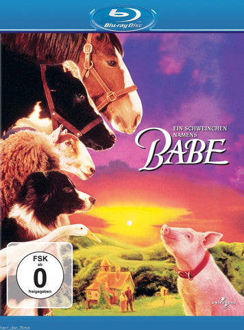 Babe (1995) - James Cromwell  Blu-ray