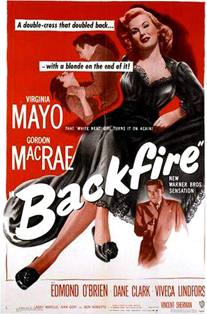 Backfire (1950) - Virginia Mayo  DVD