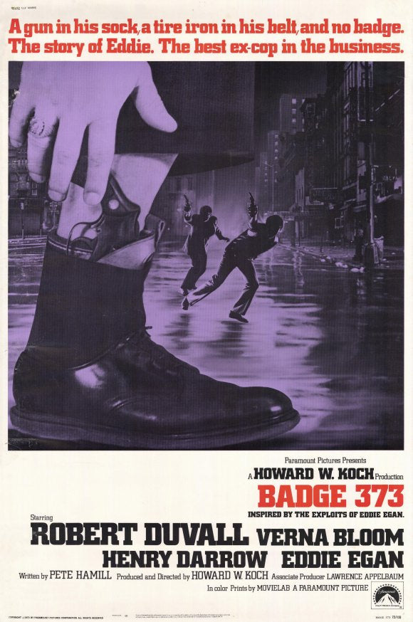 Badge 373 (1973) - Robert Duvall  DVD