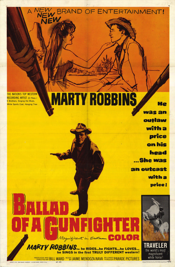 Ballad Of A Gunfighter (1964) - Marty Robbins
