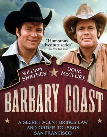 Barbary Coast : The Complete Series (1975-1976) - William Shatner  4 DVD Set
