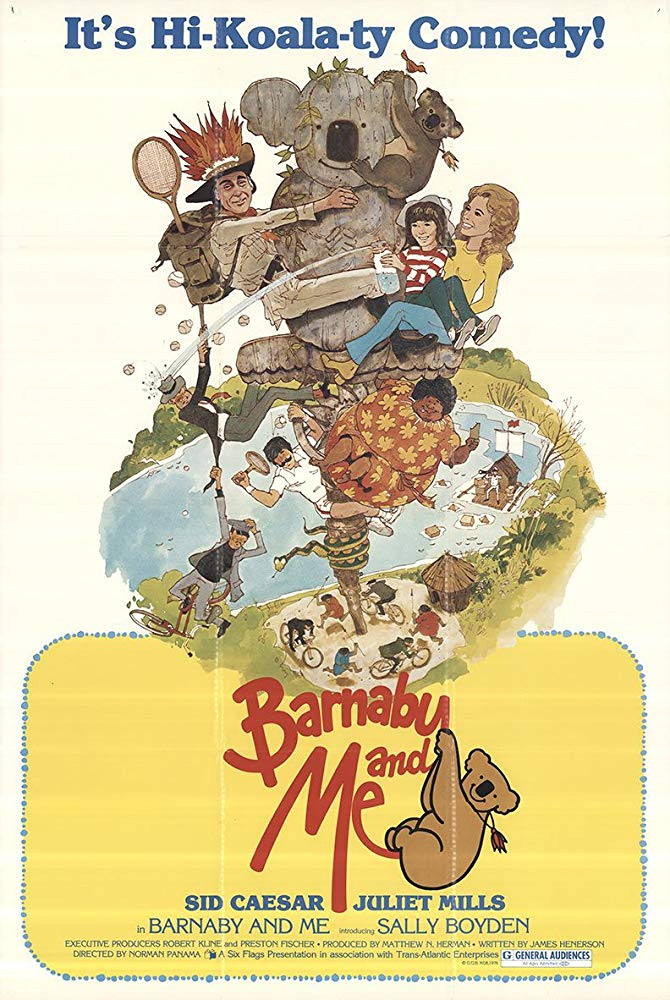 Barnaby And Me (1979) - Sid Caesar  DVD
