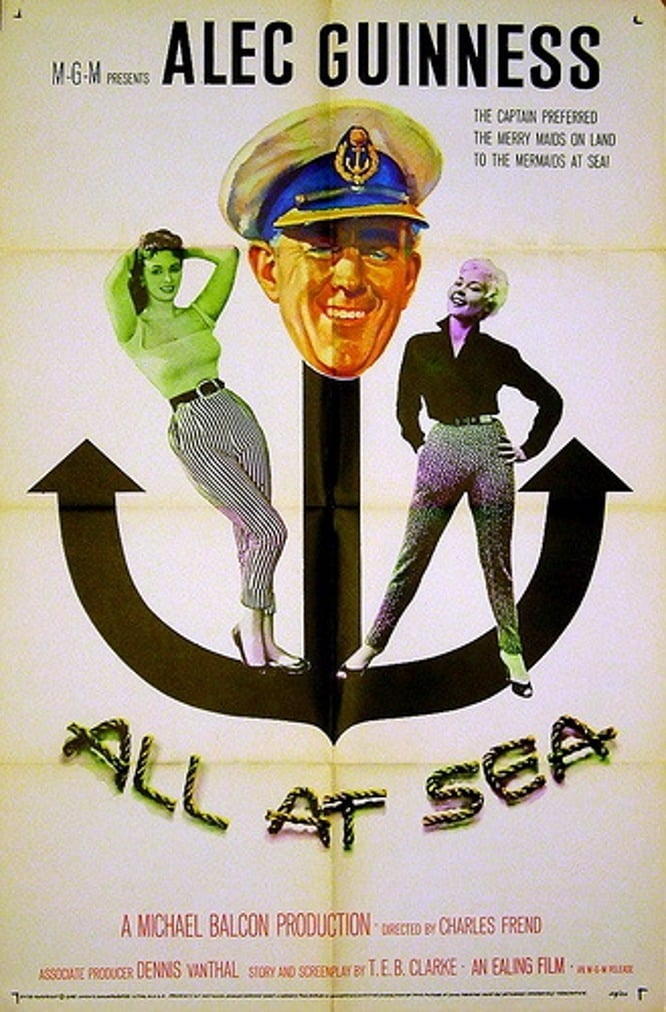 Barnacle Bill AKA All At Sea (1957) - Alec Guinness  DVD