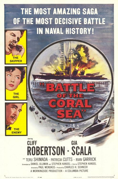 Battle Of The Coral Sea (1959) - Cliff Robertson  DVD
