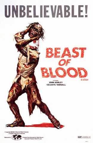 Beast Of Blood (1970) - John Ashley  DVD