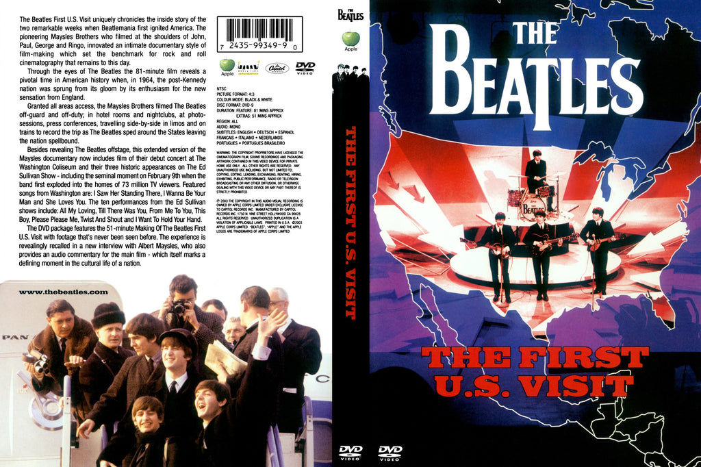 The Beatles : The First U.S. Visit - DVD