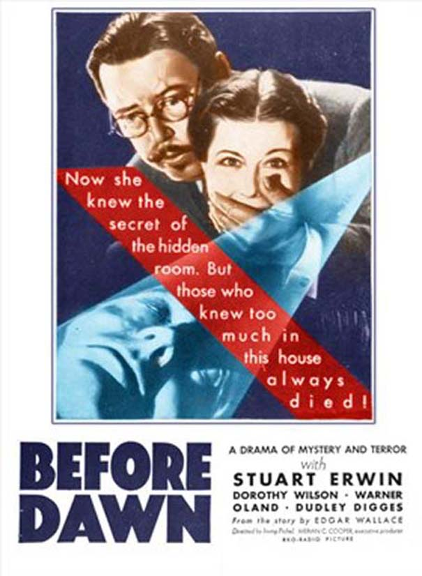 Before Dawn (1933) - Warner Oland  DVD
