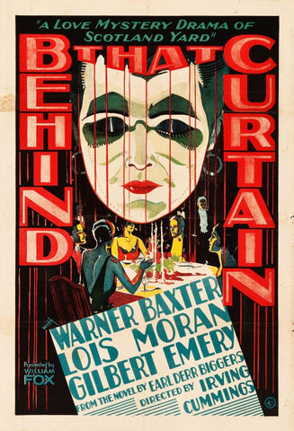 Charlie Chan : Behind That Curtain (1929) - Warner Baxter  DVD