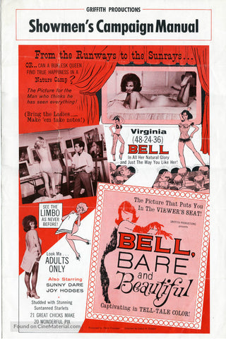 Bell, Bare And Beautiful (1963) - Herschell Gordon Lewis  DVD