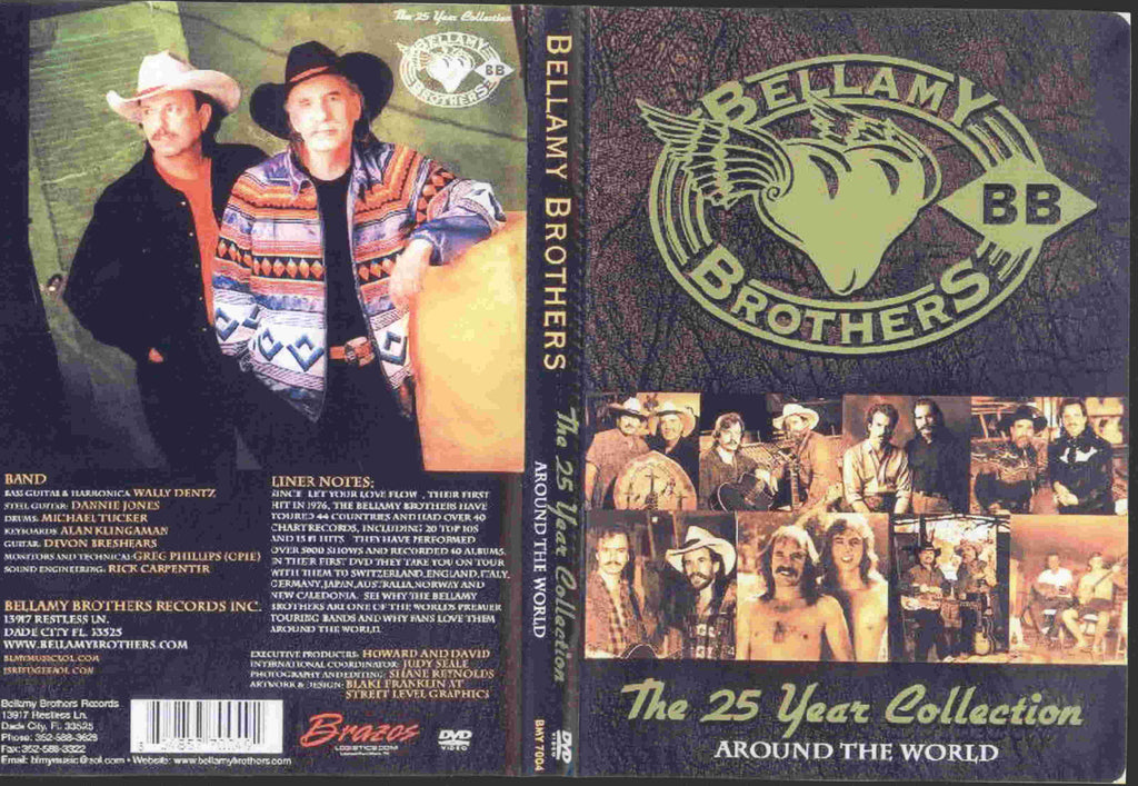 Bellamy Brothers : Around the World - The 25 Year Collection  DVD