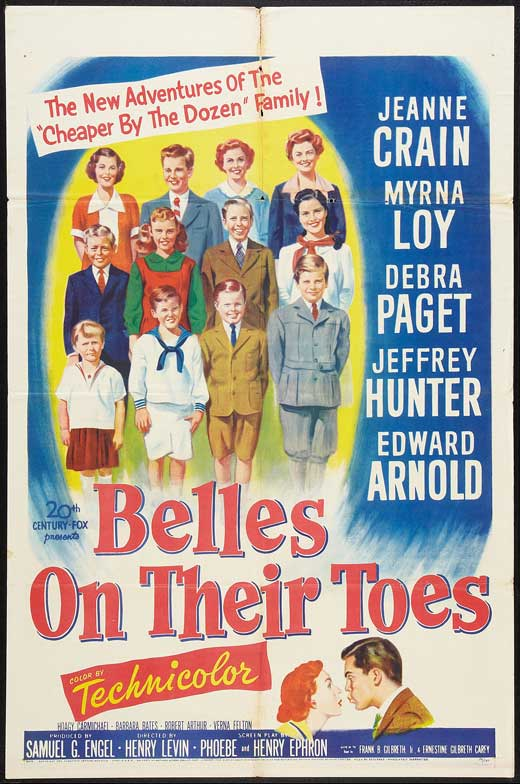 Belles On Their Toes (1952) - Jeffrey Hunter