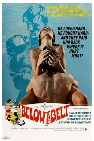 Below The Belt (1971) - John Tull  DVD
