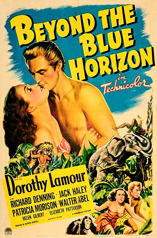 Beyond The Blue Horizon (1942) - Dorothy Lamour  DVD