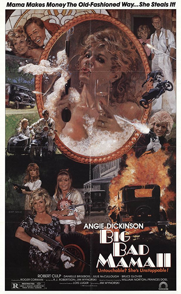 Big Bad Mama II (1987) - Angie Dickinson  DVD