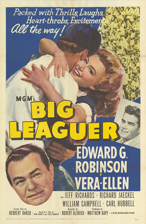 Big Leaguer (1953) - Edward G. Robinson  DVD