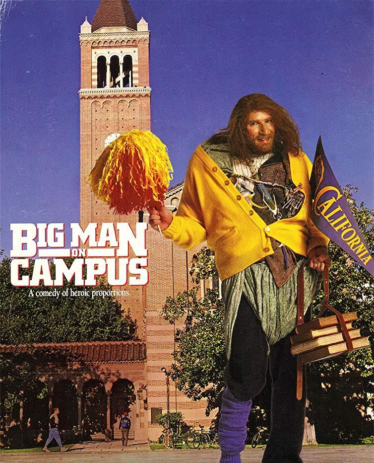 Big Man On Campus (1989) - Allan Katz  DVD
