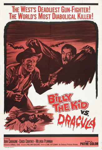 Billy The Kid Versus Dracula (1966) - John Carradine  DVD