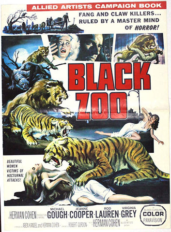 Black Zoo (1963) - Michael Gough  DVD