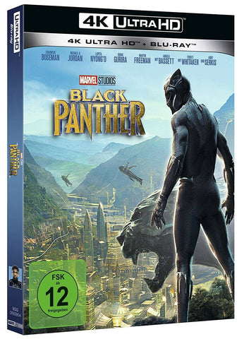 Black Panther (2018) - Chadwick Boseman  4K Ultra HD + Blu-ray