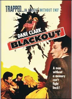Blackout AKA Murder By Proxy (1954) - Dane Clark  DVD