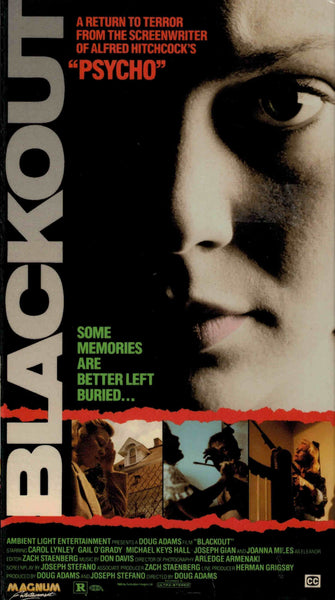 Blackout (1988) - Gail O´Grady  VHS
