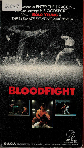 Bloodfight (1983) - Bolo Yeung  VHS