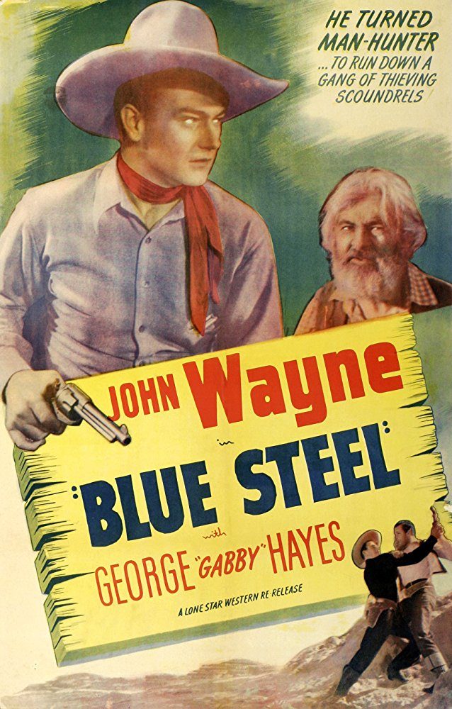 Blue Steel (1934) - John Wayne COLOR Version DVD