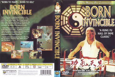 Born Invincible (1978) - Carter Wong  DVD