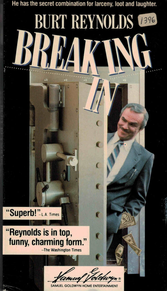 Breaking In (1989) - Burt Reynolds  VHS