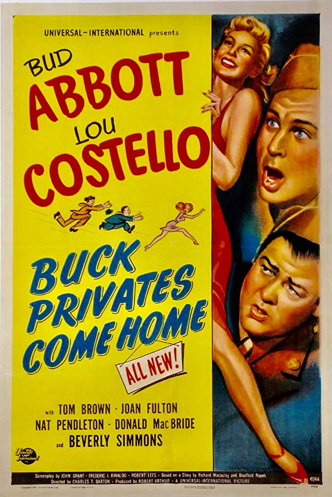 Buck Privates Come Home (1947) - Abbott & Costello  DVD