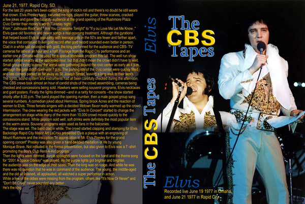 Elvis - The CBS Tapes ...
