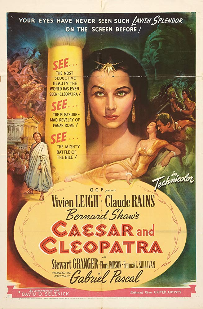 Caesar And Cleopatra (1945) - Claude Rains  DVD