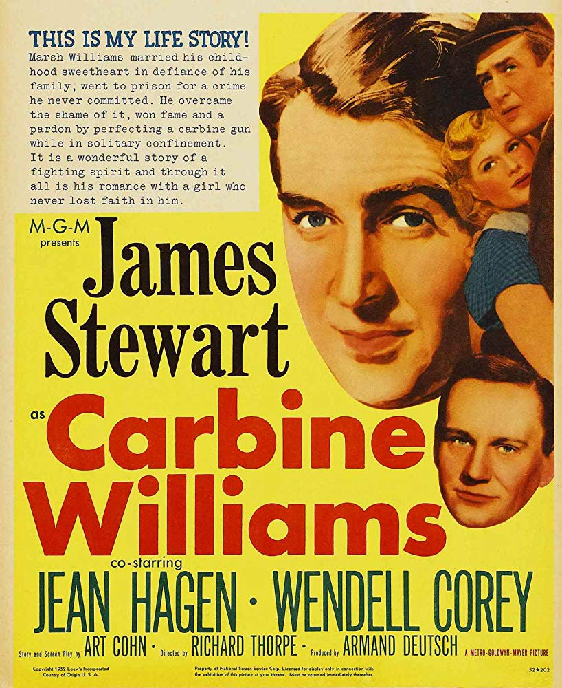 Carbine Williams (1952) - James Stewart  DVD