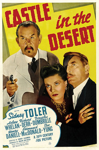 Charlie Chan : Castle In The Desert (1942) - Sidney Toler  DVD