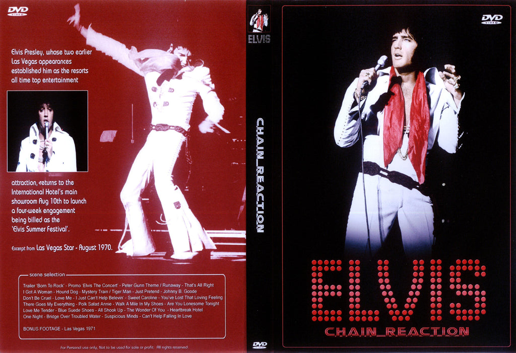 Elvis - Chain Reaction  DVD