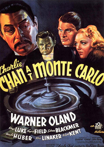 Charlie Chan At Monte Carlo (1937) - Warner Oland  DVD