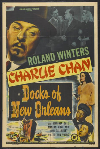 Charlie Chan : Docks Of New Orleans (1948) - Roland Winters  DVD