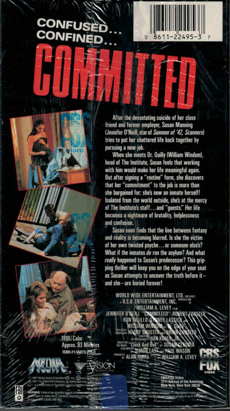Committed (1991) - Jennifer O´Neill  VHS