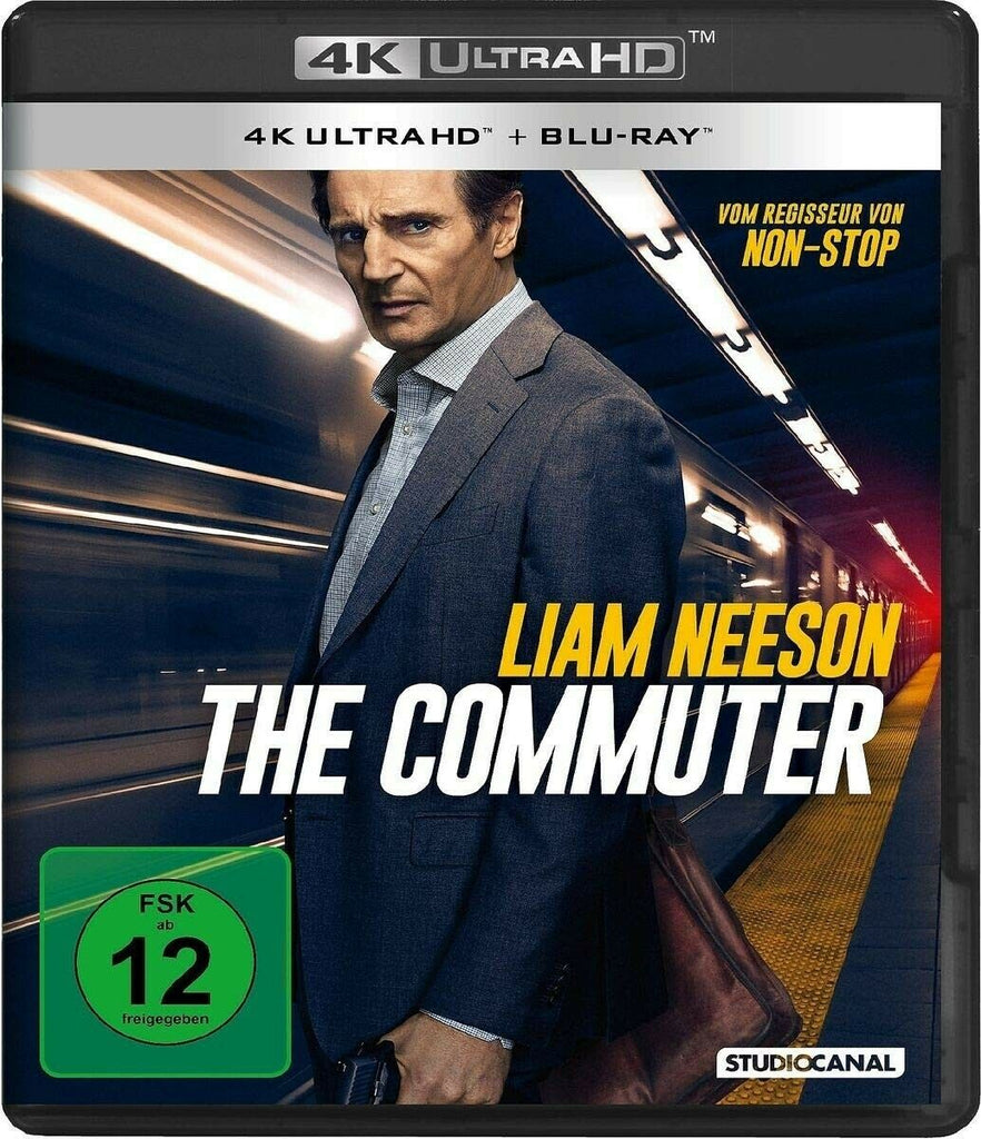 The Commuter (2018) - Liam Neeson  4K Ultra HD + Blu-ray