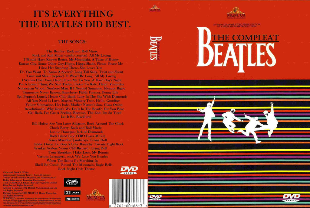 The Compleat Beatles   DVD