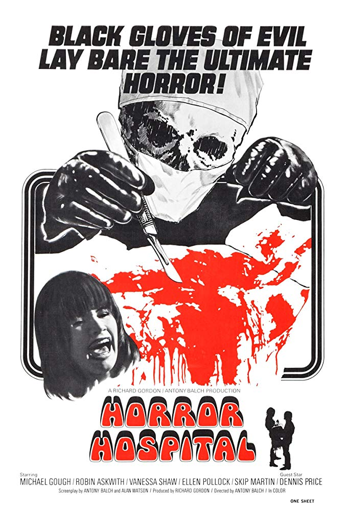 Computer Killers AKA Horror Hospital (1973)  DVD